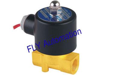 Chine orifice Unid de 24V 4.0mm 2 vannes électromagnétiques en laiton de l'eau de manière 2W040-10 fournisseur