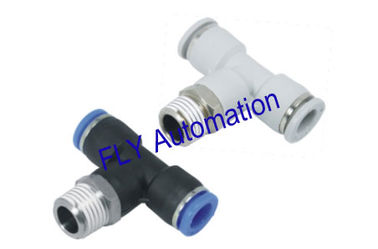 Chine Quick Connect PB Pisco té Zinc laiton raccords Tube pneumatique fournisseur