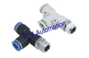 Chine Rapide pince PD Pisco Branch Tee Zinc laiton pneumatiques raccords de tuyauterie fournisseur