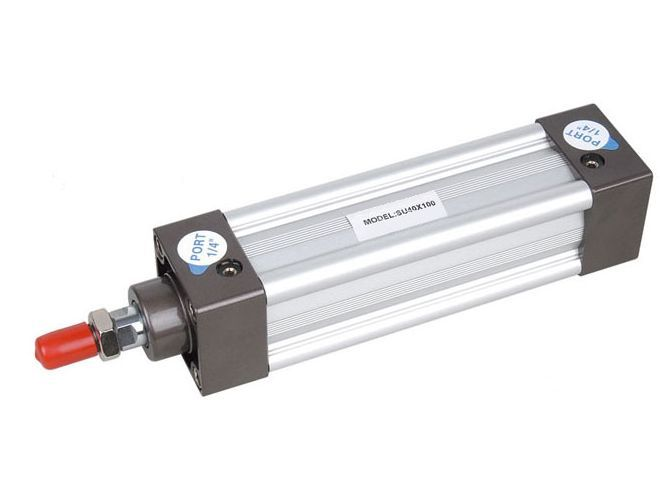 SU Standard Pneumatic Air Cylinders with 20mm Adjustable Cushion Stroke