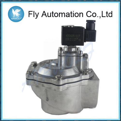 "High Flow Angle Type ASCO 2"" threaded SCG353A050 0.35-0.85Mpa NBR Pulse Jet Valve"