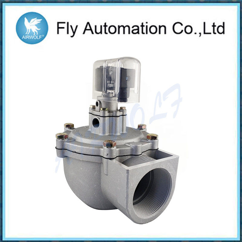 Double Diaphragm 2.5 Inch Pulse Jet Valves Screw Integrated Type