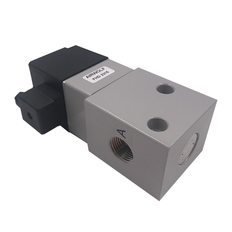High Pressure Pneumatic Solenoid Valves DC12V DC24V Environment Friendly FHD2315 1/2 Inch Air Valve