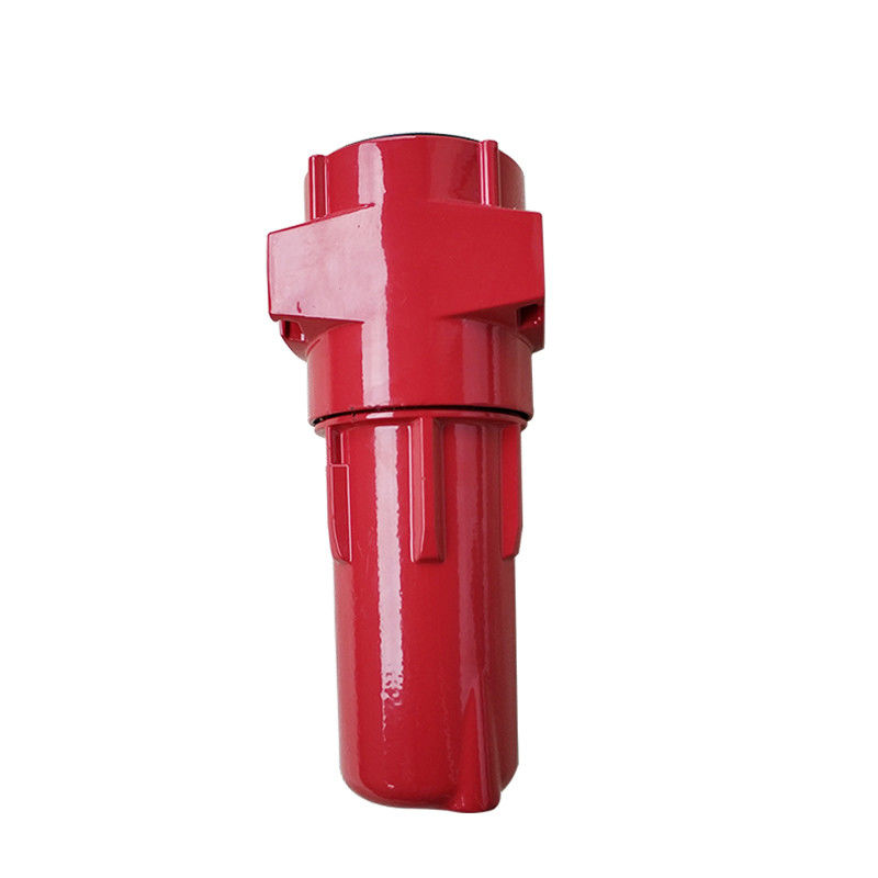 G017AO Air Preparation Units Compressed Air Filter Airflow Low Resistance Red Color