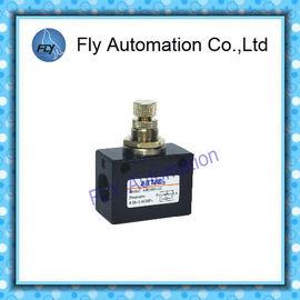 """Chine AIRTAC série d'ASC de valve de contrôle de flux la valve manuelle ASC100 ASC200 ASC300 d'air de 1/8"""" de 1/4"""" de 3/8"""" de 1/2» distributeur"""