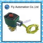 ASCO 8320 séries 3/2 laiton de vannes électromagnétiques/normalement ouvert normalement fermé du corps 1/4NPT d'acier inoxydable